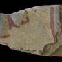 Echantillon BDX 11861. Fouilles de l'Ak Saray de 1996.  Conservé au Musée Amir Temur de Shahrisabz (photo : C.Ollagnier, 2008)