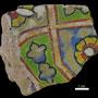 Echantillon BDX 11877. Fouilles de l'Ak Saray de 1996.  Conservé au Musée Amir Temur de Shahrisabz (photo : C.Ollagnier, 2008)