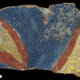 Echantillon BDX 11888. Fouilles de l'Ak Saray de 1996.  Conservé au Musée Amir Temur de Shahrisabz (photo : C.Ollagnier, 2008)