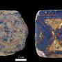 Echantillon BDX 11866. Fouilles de l'Ak Saray de 1996.  Conservé au Musée Amir Temur de Shahrisabz (photo : C.Ollagnier, 2008)