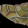 Echantillon BDX 11845. Fouilles de l'Ak Saray de 1996.  Conservé au Musée Amir Temur de Shahrisabz (photo : C.Ollagnier, 2008)