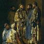 Mandiants ouzbeks, par Vasiliy Vereshchagin en 1870. Conservé à la Galerie Tretiakov de Moscou