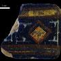 Echantillon BDX 11863. Fouilles de l'Ak Saray de 1996.  Conservé au Musée Amir Temur de Shahrisabz (photo : C.Ollagnier, 2008)