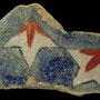 Echantillon BDX 11855. Fouilles de l'Ak Saray de 1996.  Conservé au Musée Amir Temur de Shahrisabz (photo : C.Ollagnier, 2008)