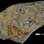 Echantillon BDX 11844. Fouilles de l'Ak Saray de 1996. Conservé au Musée Amir Temur de Shahrisabz (photo : C.Ollagnier, 2008)