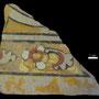 Echantillon BDX 11857. Fouilles de l'Ak Saray de 1996.  Conservé au Musée Amir Temur de Shahrisabz (photo : C.Ollagnier, 2008)