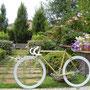 Bici totalmente modificata da un fan Margot