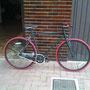 Bici modificata da un fan Margot