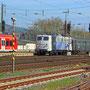Am späten Vormittag erreicht der von einer E-Lok der Baureihe 139 geführte Zug Trier - Foto: Achim Müller