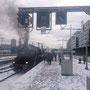 Zugbereitstellung in Stuttgart Hbf am Sonntagmorgen