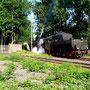 52 8095 macht am 14.06.2005 mit dem Interieur-Express Station im ehemaligen Aw Braunschweig - Foto: Marc Lewandowski IX