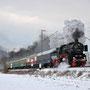 Zwischen Brohl und Namedy bringt die 52 ihren Zug auf Geschwindigkeit - Foto: Sven Niggemeyer