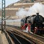 52 6106 hat das Fahrtziel Rüdesheim erreicht - Foto: Hagen Schilder