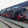 Blick auf den kompletten Zug mit V100 2091, V60 403, V60 850 und dem Lokbegleitwagen