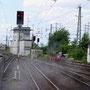 Treffen mit dem ebenfalls unter Dampf stehenden ADLER in Koblenz-Lützel