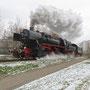 Korntal, kurz nach dem Abzweig der Strohgäubahn - Foto: Andy aus Benningen