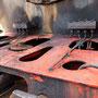Parallel zur Lok wurde auch der Kuppelkasten des Tenders gereinigt II