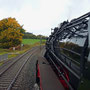 Unterwegs auf der Schmidtheimer Rampe kurz vor Erreichen des Scheitelpunkts