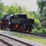 Umsetzen der Lok nach der Ankunft in Mettingen - Foto: Marcin Zaleski III