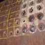 Löcher für die noch fehlenden Deckenstehbolzen