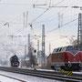 Lokwechsel von Diesel- auf Dampftraktion