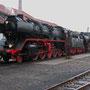Feierabend für 50 3566 und 52 6106 in Bochum-Dahlhausen