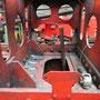 Vorbereitungen zum Ausbau des Pumpenträgers