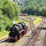 Tender voraus geht es zurück in Richtung Betriebswerk - Foto: Georg Lochner