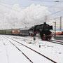 Wenig später legt sich 52 6106 in Koblenz-Lützel in die Kurve - Foto: Michael Ruge