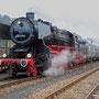 Der Zug steht abfahrbereit für die Überführung nach Trier Hbf - Foto: Achim Müller