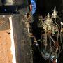 Wieder komplettierte Luftleitungen des Führerbremsventils
