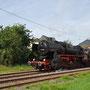 Umsetzten der Lok nach der Ankunft in Ulmen - Foto: Robert Hildebrand I
