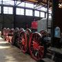Die Radsatzgruppe der Lok