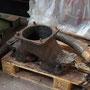 Ausgebautes Hosenrohr der Dampfausströmung I
