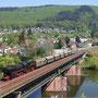 Neckarquerung bei Neckargemünd - Foto: Georg Lochner