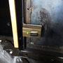 Neues Türschloss an einer der Führerhaustüren