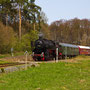 Ohne Kraftanstrengung rollt der Zug bei Höchstberg hinab in Richtung Ulmen - Foto: Joachim Francini III