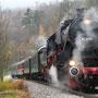 Halt auf freier Strecke vor Busenbach