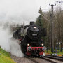 Umsetzen für die Rückfahrt nach Ettlingen