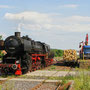 Nach der Restaurierung im Bw ist die Lok als Triebfahrzeugleerfahrt nach Ulmen zurückgekehrt
