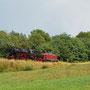 Nachschuss der Triebfahrzeugüberführung bei Berenbach