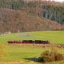Rücküberführung und gleichzeitige Rollprobefahrt am 27.04.2008 von Ulmen nach Gerolstein