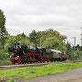 52 6106 auf dem Rückweg von Dortmund nach Gerolstein aufgenommen kurz vor Solingen - Foto: Joachim Bügel