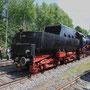 Umsetzen der Lok nach der Ankunft in Mettingen - Foto: Marcin Zaleski II