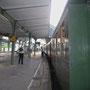 Erneuter Zwischenhalt in der ehrwürdigen Bahnhofshalle von Bad Ems