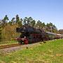 Ohne Kraftanstrengung rollt der Zug bei Höchstberg hinab in Richtung Ulmen - Foto: Joachim Francini IV