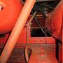 Luftleitung vom Hauptluftbehälter zur durchgehenden Behälterleitung im Rahmen