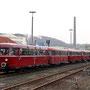 Fünfteilige AKE-Schienenbuseinheit als Zubringersonderzug aus Gerolstein - Foto: Christian Grawe