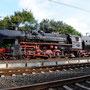 52 6106 mit Gesellschaftssonderzug Düsseldorf - Bochum-Dahlhausen am 12.9. in Mülheim-Styrum - Foto: Heinrich Podobienski