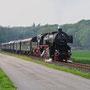 Bei Wersen rollt der stimmige Zug in Richtung Osnabrück - Foto: Frederik Löhring